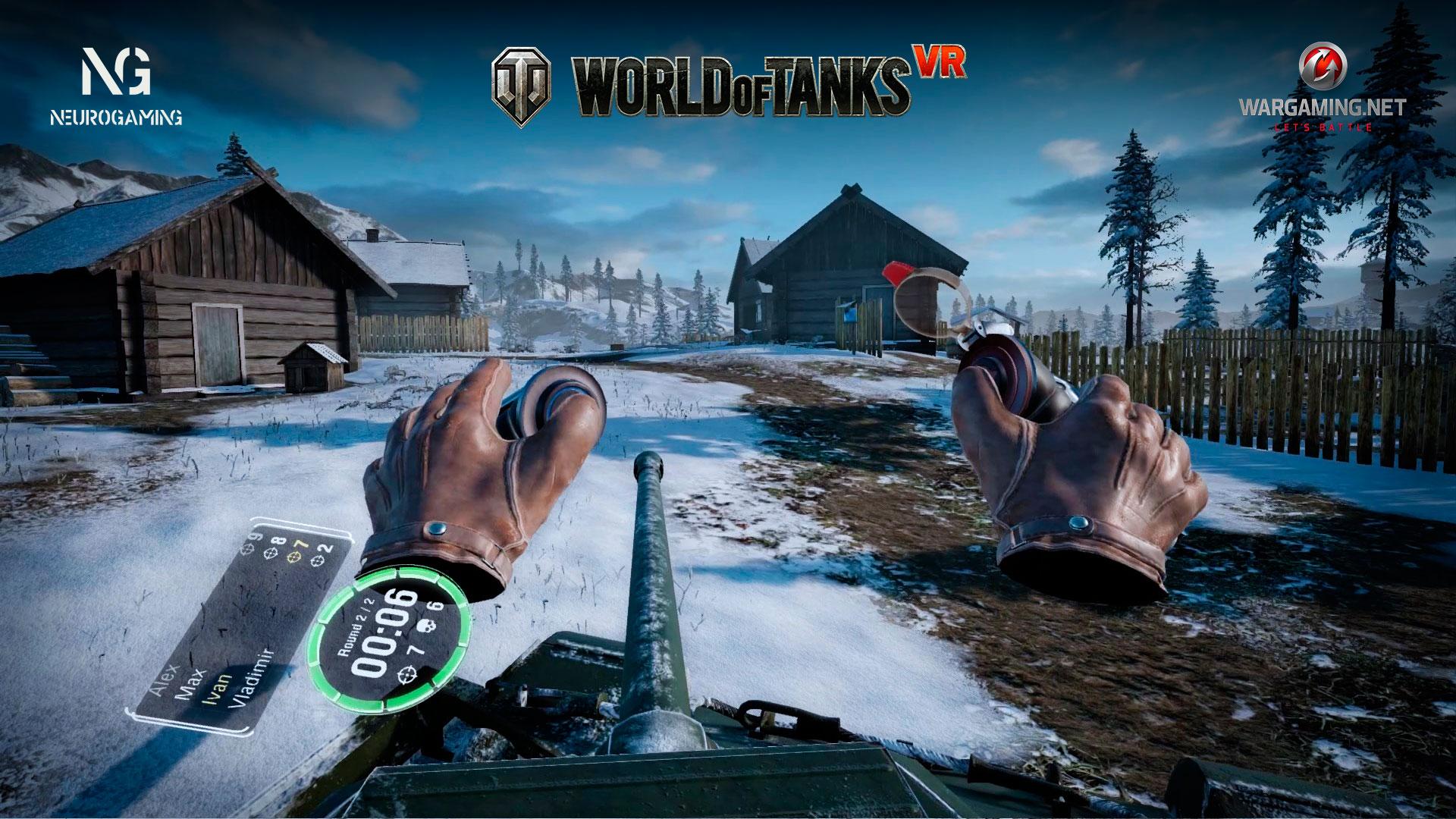 Game World of Tanks VR | PlayVR