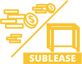 Revenue sharing or sublease model